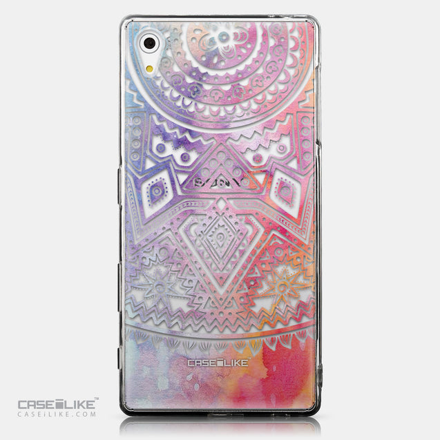 CASEiLIKE Sony Xperia Z5 back cover Indian Line Art 2065