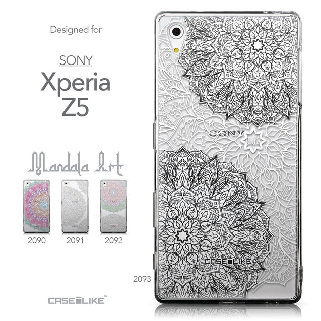 Collection - CASEiLIKE Sony Xperia Z5 back cover Mandala Art 2093