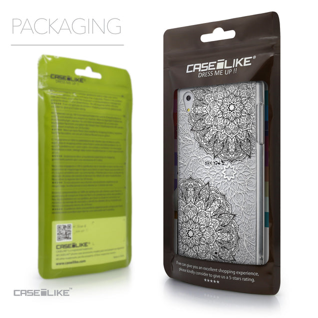Packaging - CASEiLIKE Sony Xperia Z5 back cover Mandala Art 2093