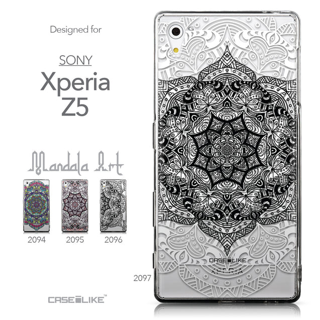 Collection - CASEiLIKE Sony Xperia Z5 back cover Mandala Art 2097