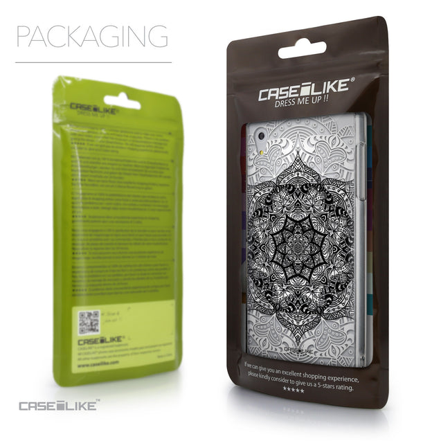 Packaging - CASEiLIKE Sony Xperia Z5 back cover Mandala Art 2097