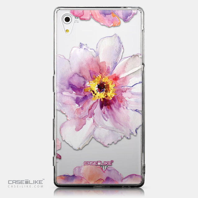 CASEiLIKE Sony Xperia Z5 back cover Watercolor Floral 2231