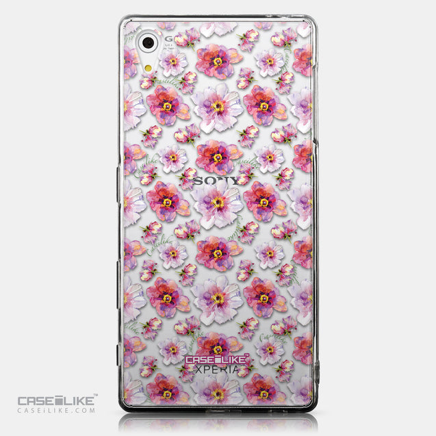 CASEiLIKE Sony Xperia Z5 back cover Watercolor Floral 2232