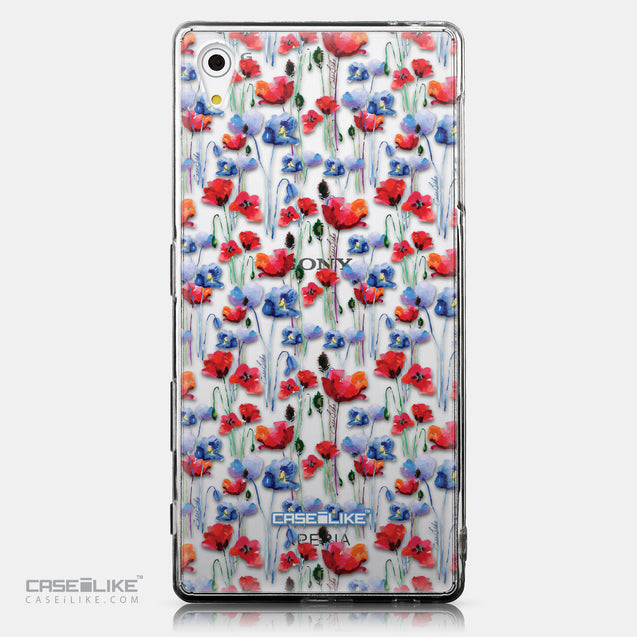 CASEiLIKE Sony Xperia Z5 back cover Watercolor Floral 2233