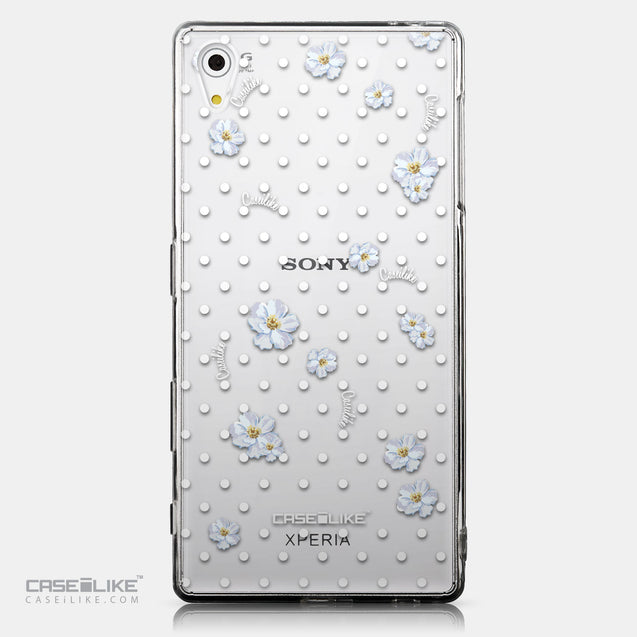 CASEiLIKE Sony Xperia Z5 back cover Watercolor Floral 2235