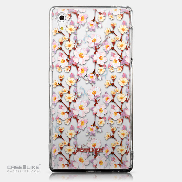 CASEiLIKE Sony Xperia Z5 back cover Watercolor Floral 2236