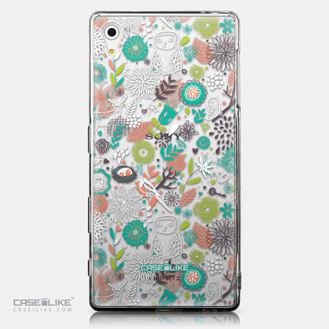 CASEiLIKE Sony Xperia Z5 back cover Spring Forest White 2241