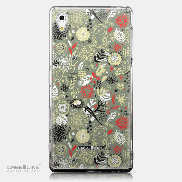 CASEiLIKE Sony Xperia Z5 back cover Spring Forest Gray 2243