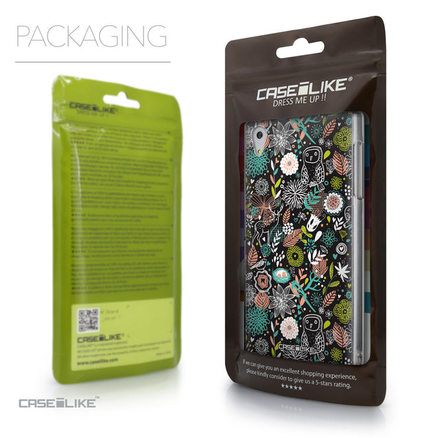 Packaging - CASEiLIKE Sony Xperia Z5 back cover Spring Forest Black 2244