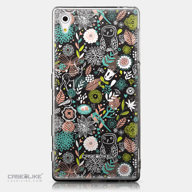 CASEiLIKE Sony Xperia Z5 back cover Spring Forest Black 2244