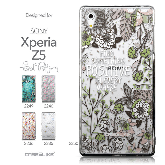 Collection - CASEiLIKE Sony Xperia Z5 back cover Blooming Flowers 2250