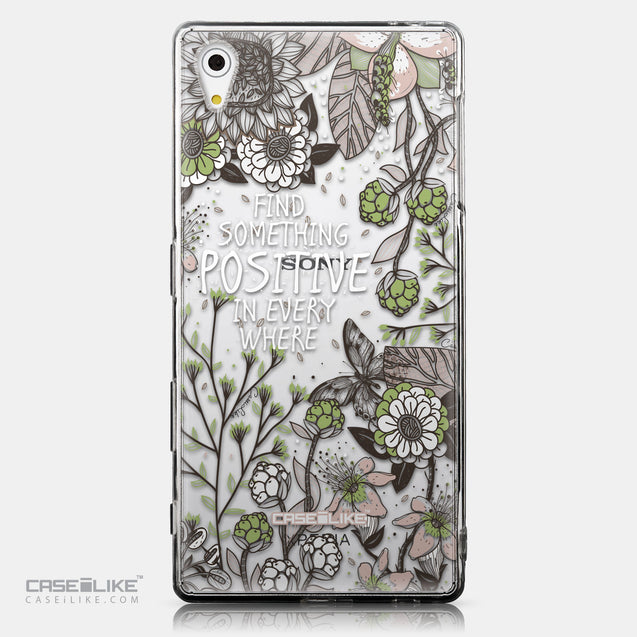 CASEiLIKE Sony Xperia Z5 back cover Blooming Flowers 2250