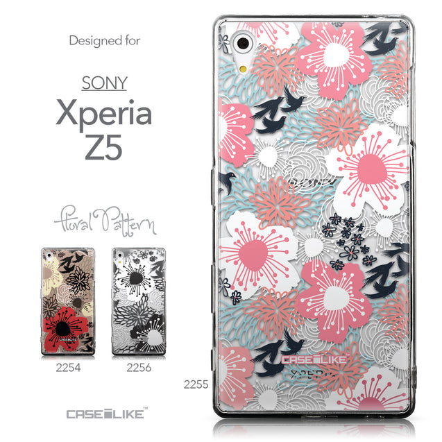 Collection - CASEiLIKE Sony Xperia Z5 back cover Japanese Floral 2255