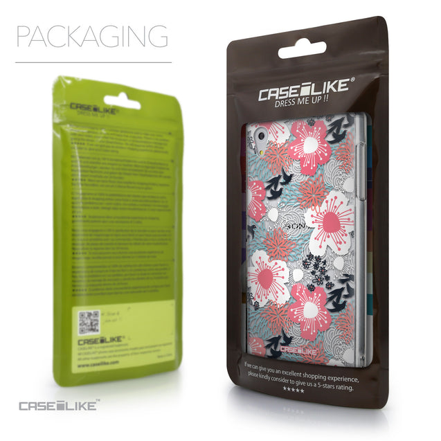 Packaging - CASEiLIKE Sony Xperia Z5 back cover Japanese Floral 2255