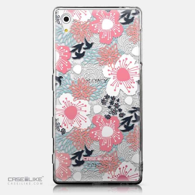 CASEiLIKE Sony Xperia Z5 back cover Japanese Floral 2255