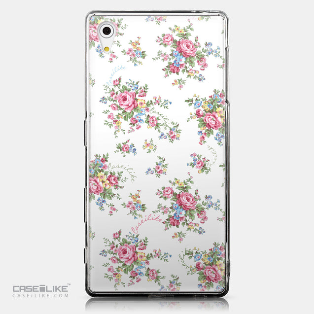 CASEiLIKE Sony Xperia Z5 back cover Floral Rose Classic 2260