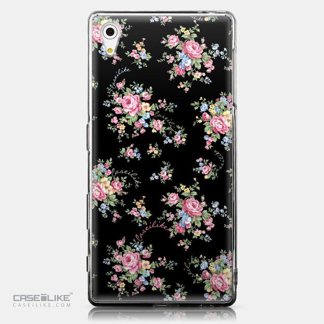 CASEiLIKE Sony Xperia Z5 back cover Floral Rose Classic 2261
