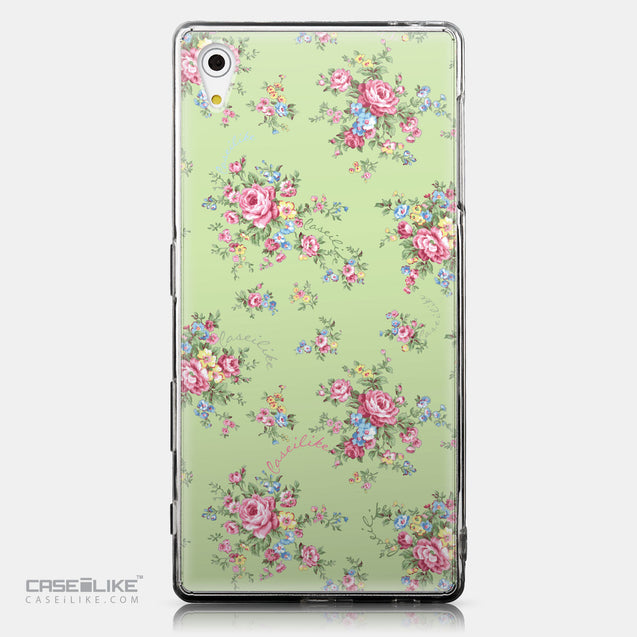 CASEiLIKE Sony Xperia Z5 back cover Floral Rose Classic 2262