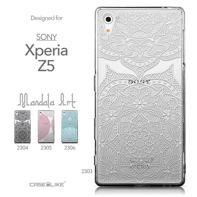 Collection - CASEiLIKE Sony Xperia Z5 back cover Mandala Art 2303