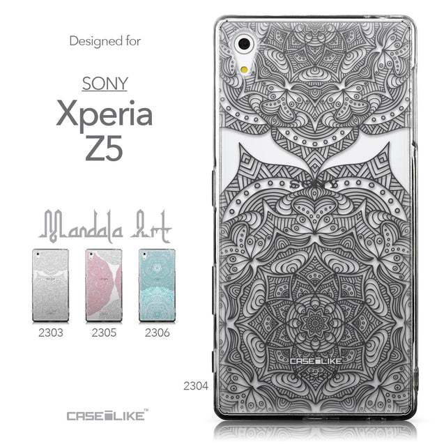 Collection - CASEiLIKE Sony Xperia Z5 back cover Mandala Art 2304