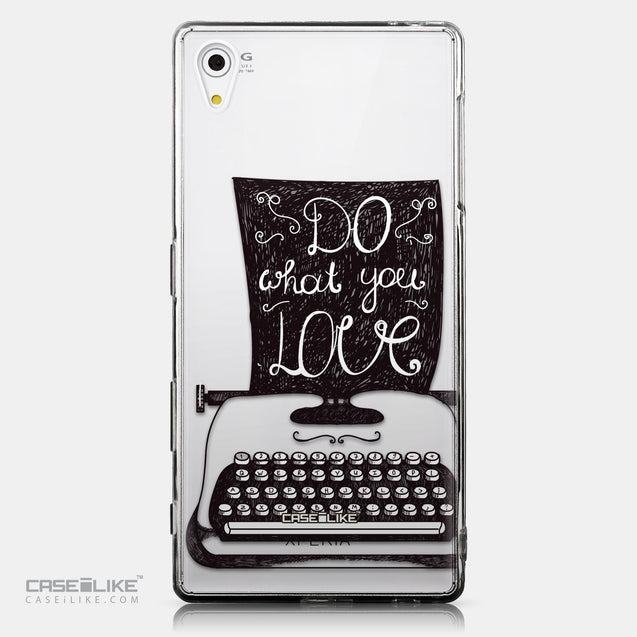 CASEiLIKE Sony Xperia Z5 back cover Quote 2400