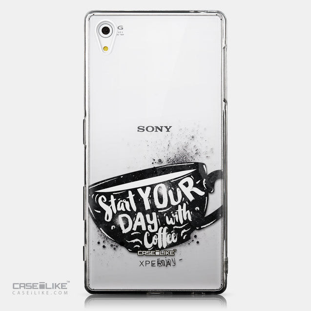 CASEiLIKE Sony Xperia Z5 back cover Quote 2402