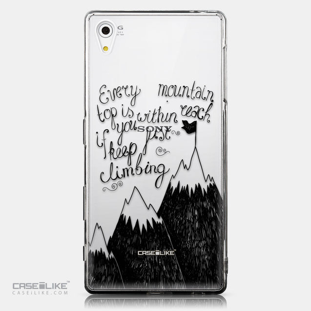CASEiLIKE Sony Xperia Z5 back cover Quote 2403