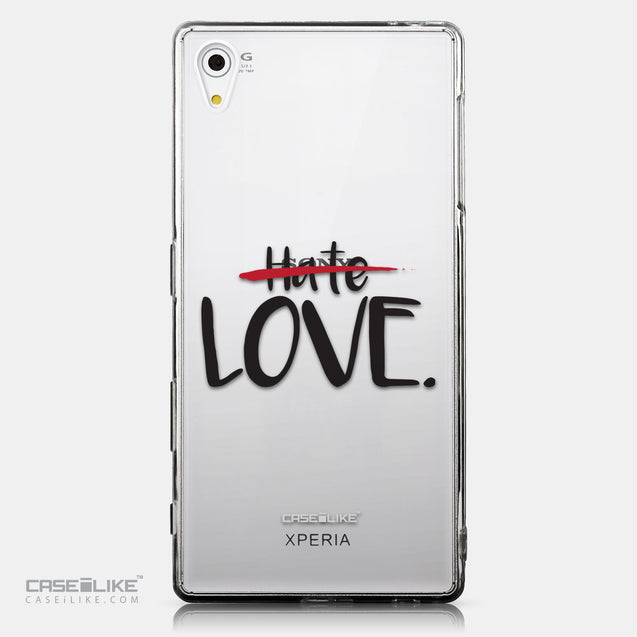 CASEiLIKE Sony Xperia Z5 back cover Quote 2406