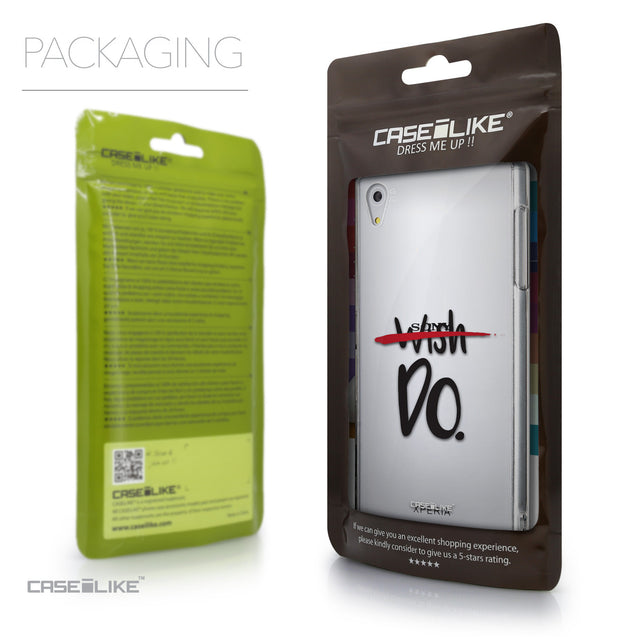 Packaging - CASEiLIKE Sony Xperia Z5 back cover Quote 2407