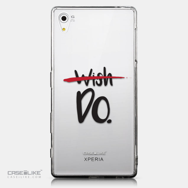 CASEiLIKE Sony Xperia Z5 back cover Quote 2407
