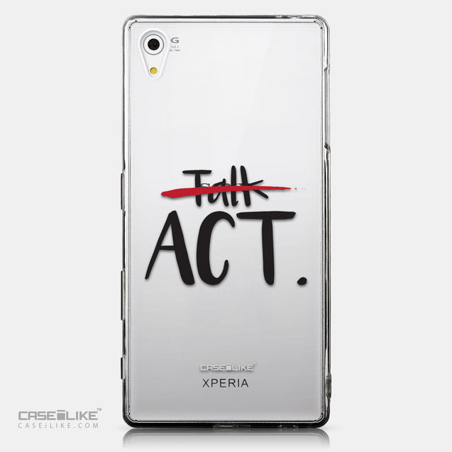 CASEiLIKE Sony Xperia Z5 back cover Quote 2408