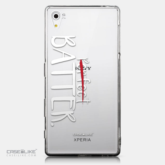 CASEiLIKE Sony Xperia Z5 back cover Quote 2410