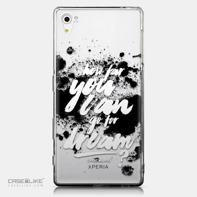 CASEiLIKE Sony Xperia Z5 back cover Quote 2413