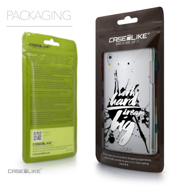 Packaging - CASEiLIKE Sony Xperia Z5 back cover Quote 2414