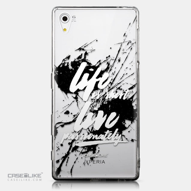 CASEiLIKE Sony Xperia Z5 back cover Quote 2416
