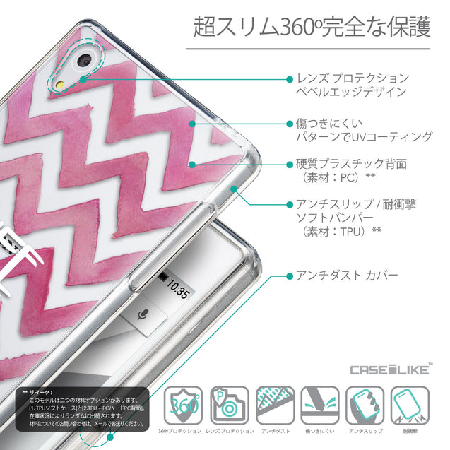 Details in Japanese - CASEiLIKE Sony Xperia Z5 back cover Quote 2419