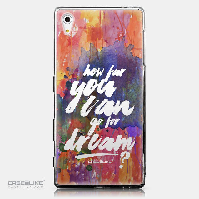 CASEiLIKE Sony Xperia Z5 back cover Quote 2421