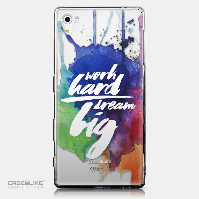 CASEiLIKE Sony Xperia Z5 back cover Quote 2422