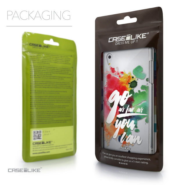 Packaging - CASEiLIKE Sony Xperia Z5 back cover Quote 2424