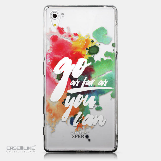 CASEiLIKE Sony Xperia Z5 back cover Quote 2424