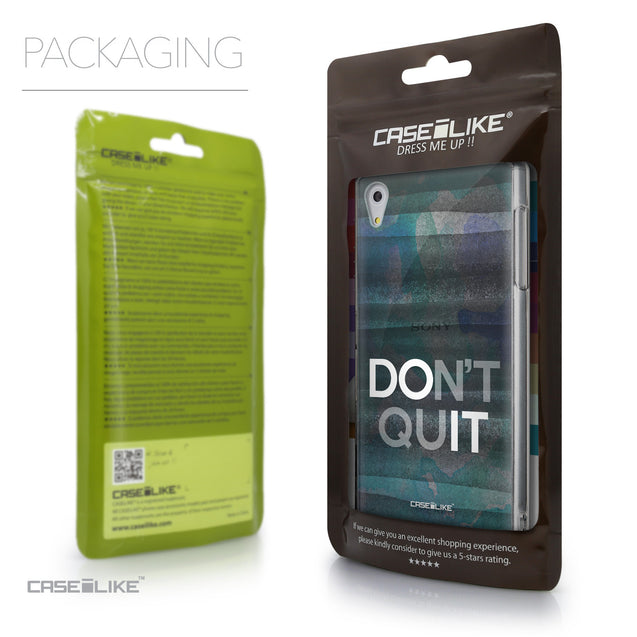 Packaging - CASEiLIKE Sony Xperia Z5 back cover Quote 2431