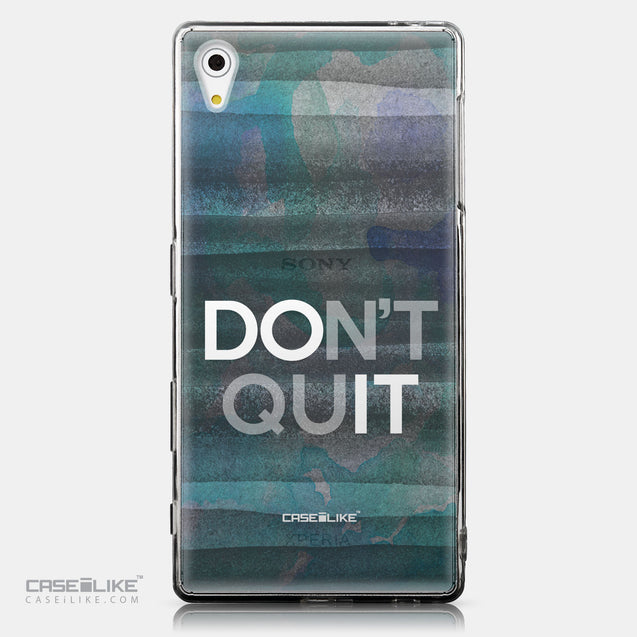 CASEiLIKE Sony Xperia Z5 back cover Quote 2431