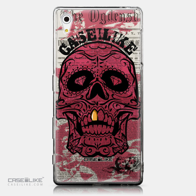 CASEiLIKE Sony Xperia Z5 back cover Art of Skull 2523