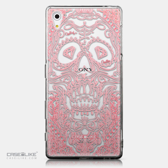 CASEiLIKE Sony Xperia Z5 back cover Art of Skull 2525