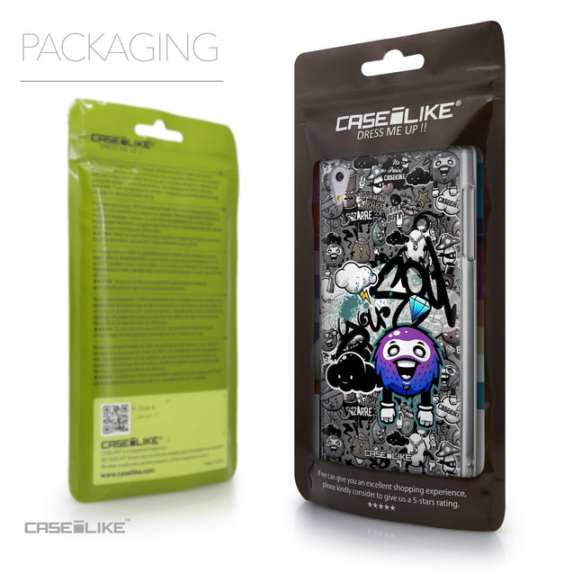 Packaging - CASEiLIKE Sony Xperia Z5 back cover Graffiti 2706
