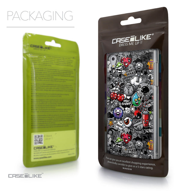 Packaging - CASEiLIKE Sony Xperia Z5 back cover Graffiti 2709