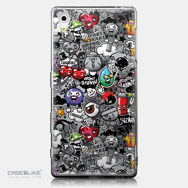 CASEiLIKE Sony Xperia Z5 back cover Graffiti 2709