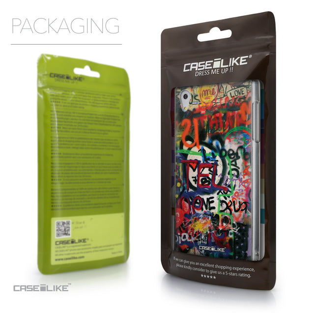 Packaging - CASEiLIKE Sony Xperia Z5 back cover Graffiti 2721