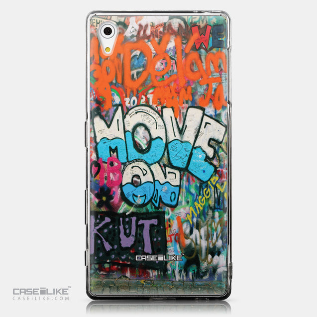 CASEiLIKE Sony Xperia Z5 back cover Graffiti 2722