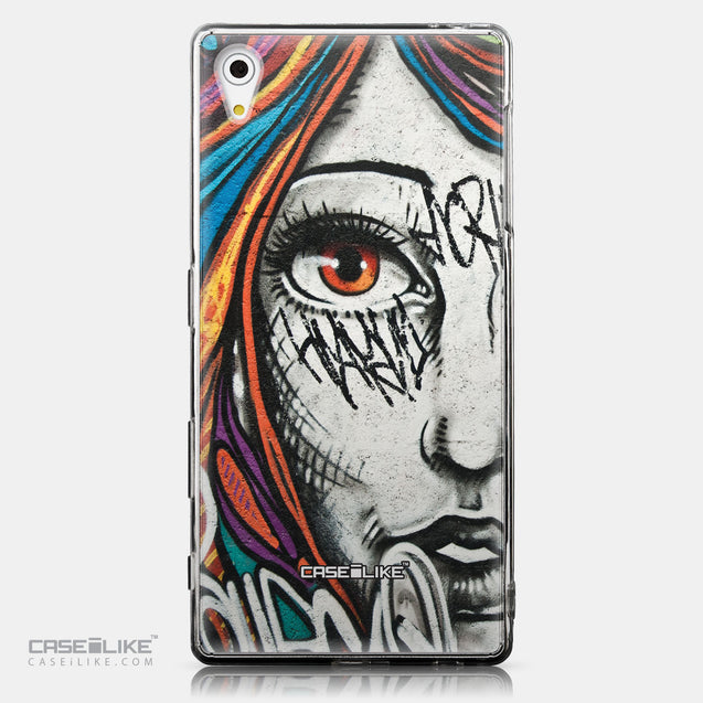 CASEiLIKE Sony Xperia Z5 back cover Graffiti Girl 2724